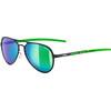 UVEX LGL 30 Pola - Gafas ciclismo - verde/negro